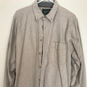 Woolrich Chamois Cotton Button-down long sleeve